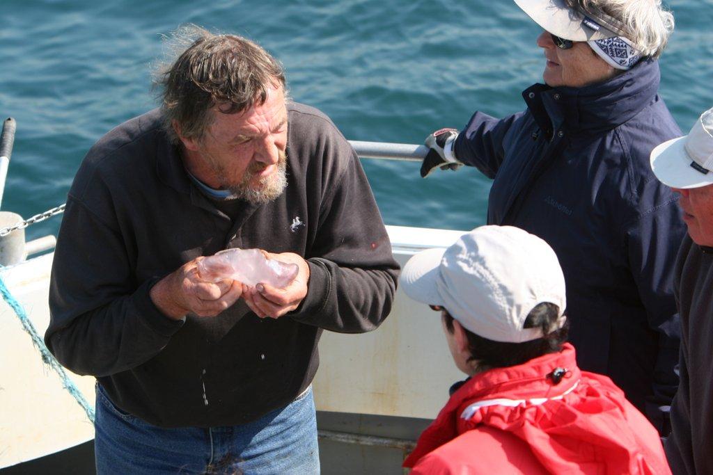 Whale Watching Skipper Colin Barnes